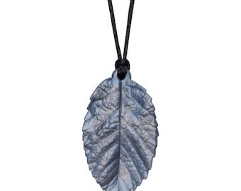 Kids Sensory Chewelry - Leaf Chew Necklace