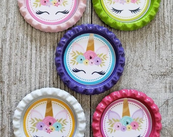 Unicorn magnets set of 5