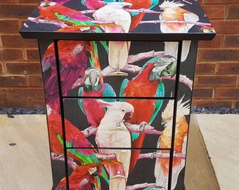 SOLD** Parrot Small Chest Of Drawers