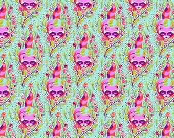 Tula Pink - ALL STARS - Raccoon - Poppy Item # PWTP037.POPPY