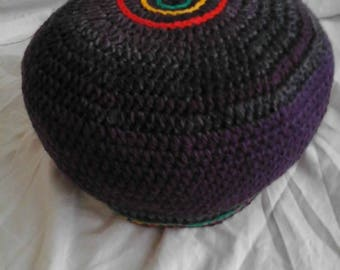 Rasta Riddims Mega Crochet Tam *Crown* Hat