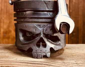 Skull and mechanical spark plug