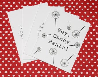 Four-pack of greeting cards!