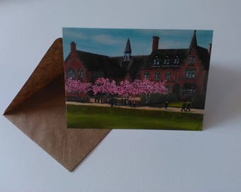 Sandbach School - Greeting Card with Envelope in Cellophane Wrapping