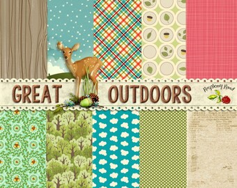 Great Outdoors 2 Paper Set