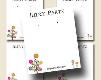 DIY POLLY Earring Cards, Jewelry cards,Tent Card,Earring Display,Earring Card,Necklace Holder, DIY Jewelry Cards, Printable Cards