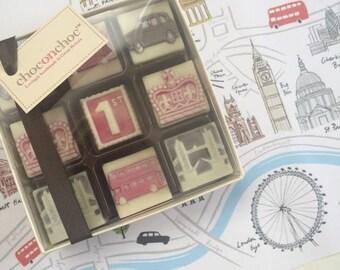 British Sightseeing Chocolate Box