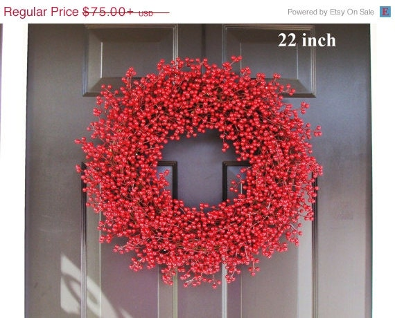 Winter Wreath, Christmas Wreath, Holiday Decor, ALL WEATHER Christmas Wreath, Valentine's Day Wreath, In Better Homes and Gardens