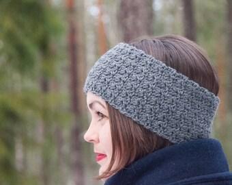 CROCHET PATTERN - Bellus Headband Crochet Pattern - PDF Crochet Pattern