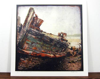 Shipwreck #7 - Britain - print expo 30 x 30 cm - signed and numbered