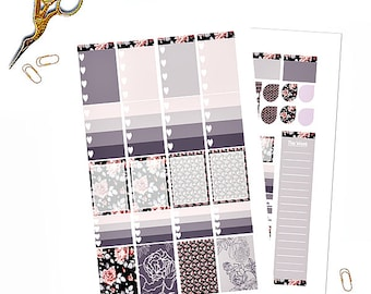 Vintage Kit 2 - Planner Printable Stickers