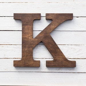 Wooden Letters   Wall Letters   Wood Letters   Alphabet Letters   Rustic Home  Decor
