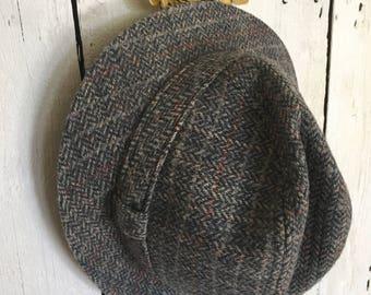 Pendleton Woolen Mills Grey Fedora-Vintage 60s