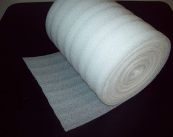 """100 Foot Foam Roll! 1/16"""" Thick/12"""" Wide! Perforated Every 12"""" Foam Wrap"""