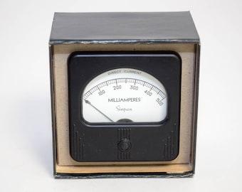 Vintage Simpson Panel Meter Model 27 DC Milliamperes 0-500 - NOS