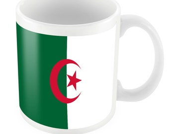 Algeria Road To World Cup Ceramic Mug Gift Birthday Present Novelty Brasil 2014