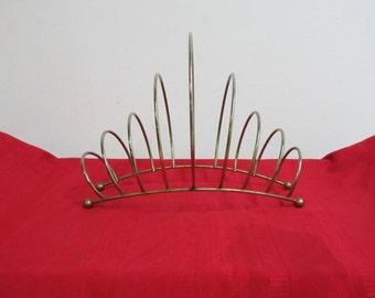 Mid Century Wire Magazine Rack Stand A