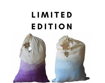 Limited Edition Santa sack,  christmas, stocking, drawstring bag, decoration
