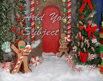 Digital Christmas Holiday Background Download