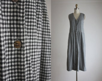 gingham field dress