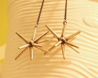 Star Burst Earrings