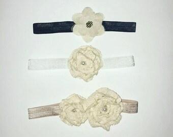 Baby floral fancy headbands