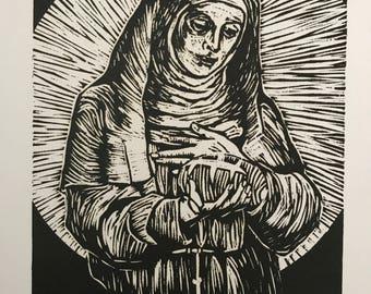 St. Clare Print