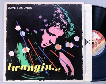 Dave Edmunds - Twangin... - Vintage Vinyl Record Album 1981 - Swan Song Records