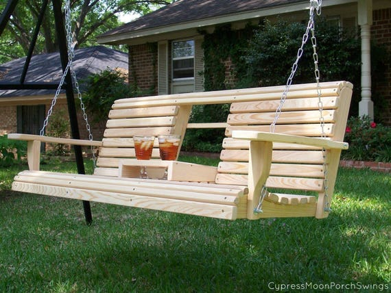 6 Ft Console Porch Swing Free Shipping