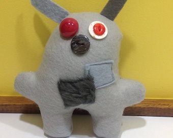 Handmade Monster Soft Toy - Miggui - cute, quirky, handmade soft toy / plushie /stuffed animal