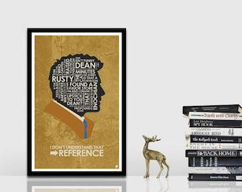 SuperNatural - Castiel Quote Poster