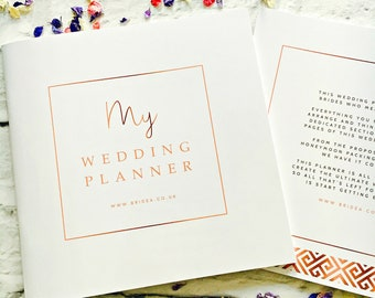 The Ultimate Wedding Planner For Brides - 50 Page Wedding Organiser