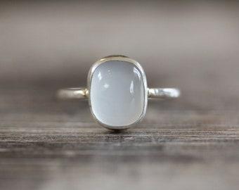 Sea Chalcedony Ring