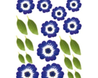Shapeforming A4 flower purple precut - SLSH48