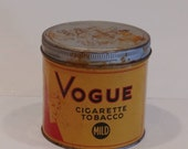 Vintage Vogue Cigarette T...
