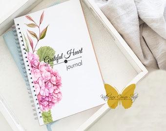Gratitude Journal,Thankful Journal, Grateful Journal, Gratitude Notebook, Writing Journal, Journal Diary, Diary Notebook