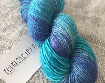 Wool Silk Sock- Dreamscape