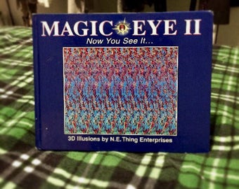 Magic Eye II: Now You See It 3D Illusion book