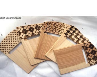 Wooden Pocket Square