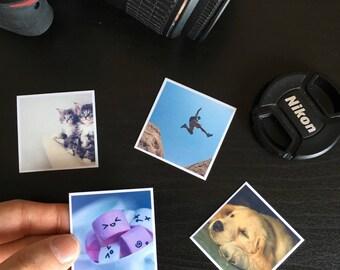 Easter gift etsy custom photo magnets custom fridge magnets easter gift square photo magnet best negle Images