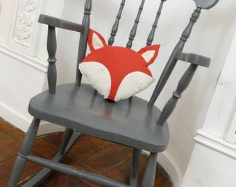 Fox shaped pillow to decorate your room