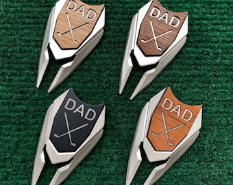 DAD Golf Magnetic Ball Marker & Divot Tool, Father's Day Golf, Dad Birthday Gift for Dad, asap golf, golf gift for dad men man rush gift