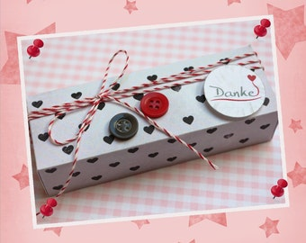 Gift set 'Thank you' filled, OWL - clip