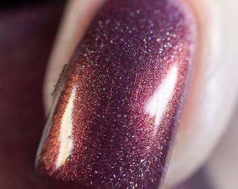 WILD HUNT by CANVAS lacquer - burgundy multichrome