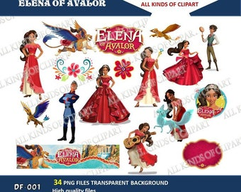 34 PRINCESS ELENA of AVALOR Cliparts High Quality Png Images with Transparent Backgrounds