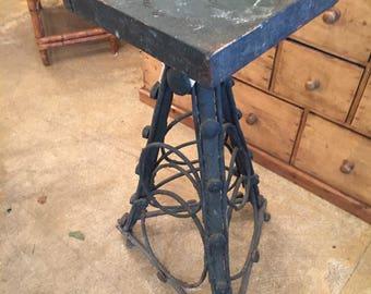 Folk Art Twig Table