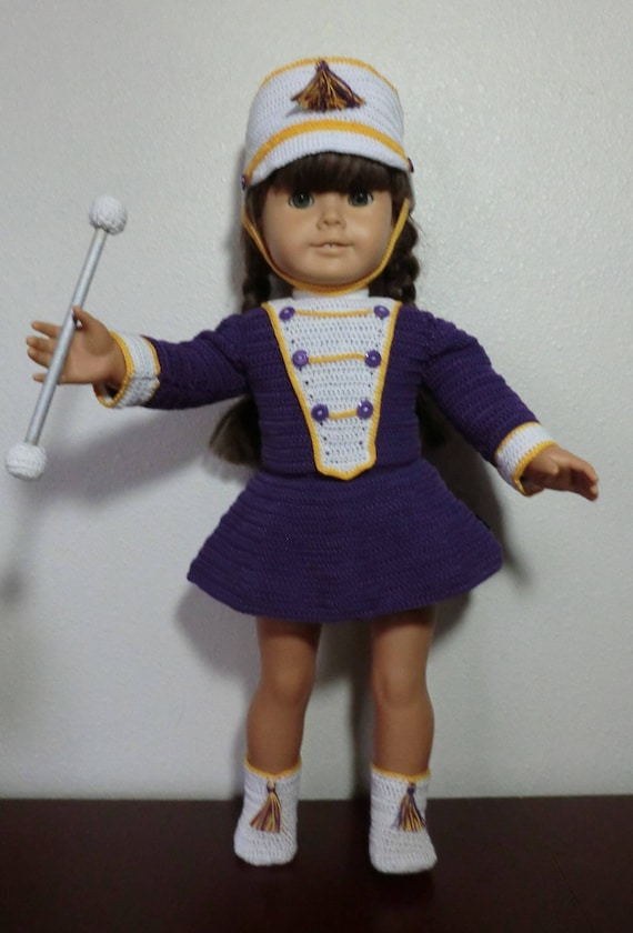 Drum Major Crochet Pattern