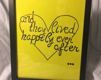 Sign- and they lived happily ever after