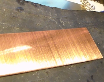 2x6 Copper Sheet 24 gauge