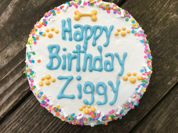 Customized Birthday Cake for Dogs